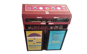 共享晴雨伞系统钣金机柜