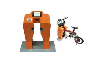 共享电动单车锁桩钣金机柜